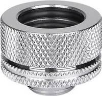 "Vízhűtés fitting Thermaltake Pacific G1/4 PETG Tube 16mm (5/8"") OD Compression - Chrome (CL-W092-CA00SL-A) Thermaltake"