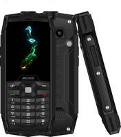 Archos Saphir 24F Outdoor mobiltelefon Fekete (503771) Archos