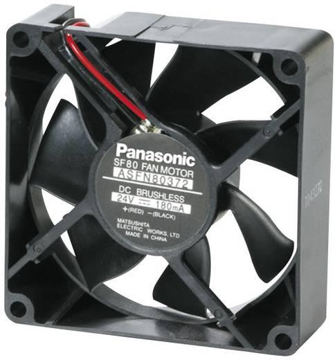 Axiális ventilátor (ipari), 12 V/DC 65.4 m³/h 80 x 80 x 25 mm Panasonic ASFN80371