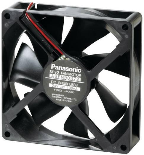Axiális ventilátor (ipari), 24 V/DC 58.8 m³/h 92 x 92 x 25 mm Panasonic ASFN94372