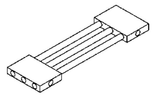 Hőcsatlakozó elem hővezető csövekhez, QG-IF-A8-1X2