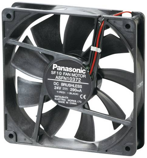 Axiális ventilátor (ipari), 24 V/DC 165 m³/h (Sz x Ma x Mé) 120 x 120 x 38 mm Panasonic ASFN12B72