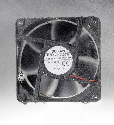 Vízálló axiális ventilátor IP58 12 V/DC 172 m³/h 120 x 120 x 38 mm Conrad Components RD12038B12M