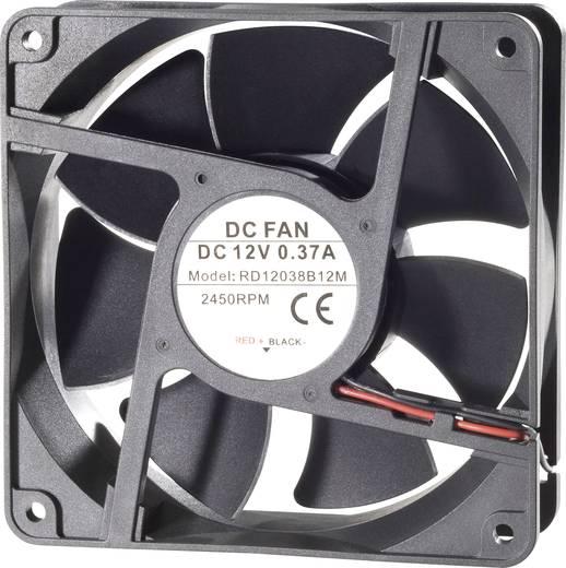 Vízálló axiális ventilátor IP58 24 V/DC 172 m³/h 120 x 120 x 38 mm Conrad Components RD12038B24M