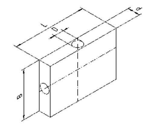 Hőcsatlakozó elem hővezető csövekhez, QG-IF-A8-1X1