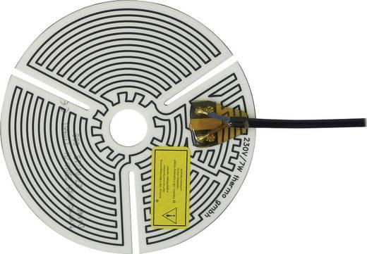 Öntapadó fűtőszálas fűtőfólia (Ø) 140 mm, 230V, 7 W