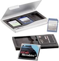 Durable 530923 Memóriakártya rendező SD kártya, CFast kártya Ezüst Durable
