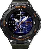 Casio Kvarc Karóra WSD-F20A-GNBAE (H x Sz x Ma) 61.7 x 57.7 x 15.3 mm Fekete, Narancs Ház anyaga=Műgyanta Anyag (karpánt Casio