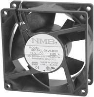 Axiális ventilátor 24 V/DC 93 m³/h 92 x 92 x 25 mm NMB Minebea 3610KL-05W-B50  NMB Minebea