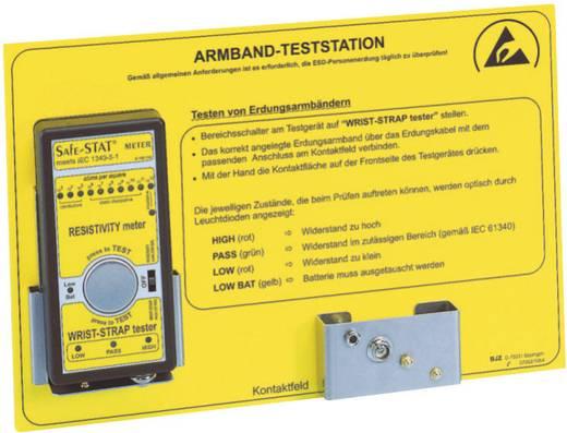 Fali tartókonzol ESD tesztelő és mérőműszerekhez BJZ C-100 1434
