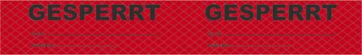 ESD PVC ragasztószalag nyomtatással BJZ C-101 753-R (H x Sz) 66 m x 50 mm Piros