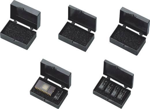 Alkatrésztároló doboz ESD 51 x 29 x 13.5 mm fekete BJZ C-186 13AC