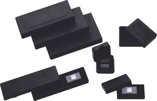 Csúszófedeles ESD tárolódoboz habszivacs betéttel 44 x 118 x 13 mm fekete BJZ C-186 005