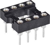 Precíziós IC foglalat 8 pólusú , RM 2.54 mm 7.62 mm, 10.08 mm x 10.08 mm, MPE Garry , 001-1-008-3-B1STF-XT0
