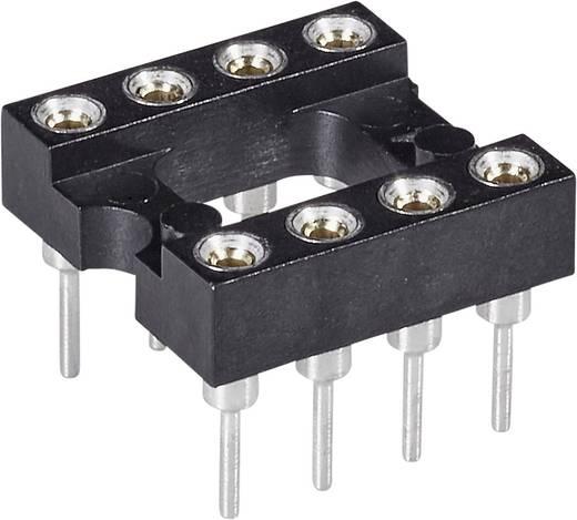 Precíziós IC foglalat MPE Garry MP 06.3 STG BU Pólusszám 6 Anyag Érintkező: 0,25 µ arany nikkel felületen