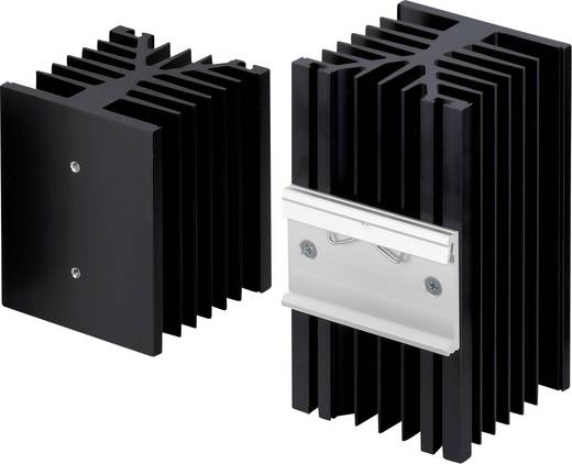 Hűtőborda 1 K/W 100 x 75 x 87 mm, Fischer Elektronik SK 89 100 KL-SSR2