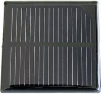 Krisztallin napelem, 0,58 V 850 mA, csavaros csatlakozás, Sol Expert SM850 Sol Expert