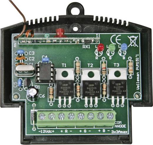RGB effekt generátor Velleman VM151 Kivitel