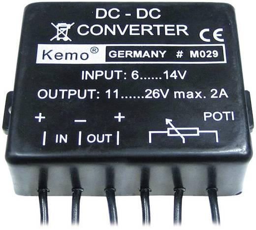 Feszültségátalakító modul max. 2 A, KEMO M029
