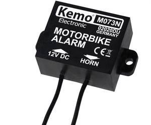 Motorkerékpár riasztó modul max.25V/DC Kemo Electronic M073N (M073N) Kemo