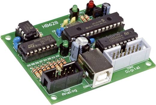 H-Tronic 8 csatornás USB adatrögzítő- és vezérlő modul 191030 Modul USB-n keresztül