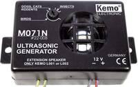 Állítható ultrahangos állatriasztó, kártevőriasztó 12V-os Kemo M071N (M071N) Kemo