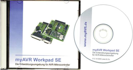 myAVR kártya MK2, készlet