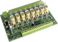 Távírányítható 8 csatornás relékártya építőkészlet, Velleman K8056 Velleman