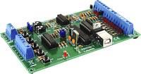 USB kísérleti interfész panel építőkocka, Velleman K8055 Whadda