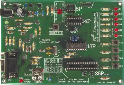 PIC programozó és kísérletező panel építőkészlet, Velleman K8048