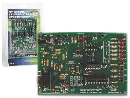 PIC programozó és kísérletező panel, Velleman VM111