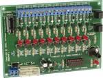 Fényeffekt generátor 12 V, 10 csatornás