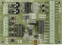 USB kísérleti interfész panel, Velleman VM110N Velleman