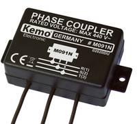 Fáziscsatoló modul Powerline termékekhez, 110 - 440 V/AC, KEMO M091N (M091N) Kemo