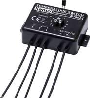 Hőmérséklet kapcsoló termosztát modul 12-15V/DC 0 - 100 °C Kemo Electronic M169 Kemo