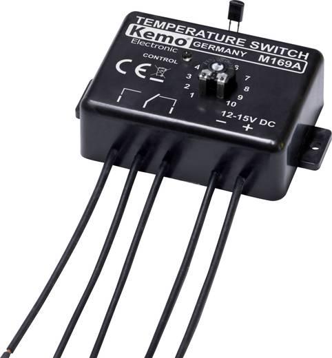 Hőmérséklet kapcsoló termosztát modul 12-15V/DC 0 - 100 °C Kemo Electronic M169