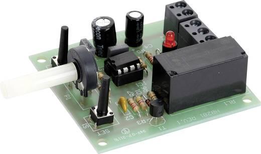 Precíziós időkapcsoló, 10-15V/DC, 6A/250V/AC, 300 ms-100s