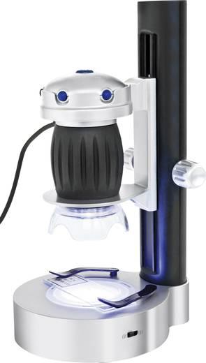 USB-s mikroszkópkamera, 1,3 millió pixel, digitális, nagyítás 36-szoros és 200-szoros, Bresser