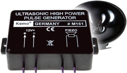 Nagy teljesítményű ultrahangos vaddisznó-, szarvas-, menyét- és nyestriasztó modul, 12V, max.: 300m, 120 dB, Kemo M161