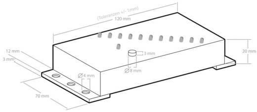 Vízszintjelző, folyadék feltöltési szint jelző LED-es kijelzéssel Kemo M167N