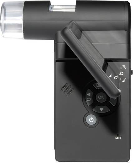 Digitális mikroszkópkamera 5 Mio. Pixel 10x és 500 x nagyítás DigiMicro Mobile USB/TFT