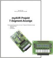 myAVR Bővítő készlet Projekt 7-Segment-Anzeige myAVR