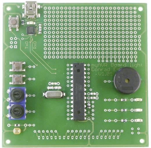 myAVR kísérleti panel vékony