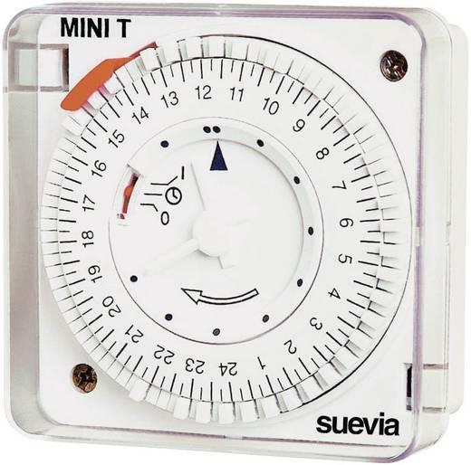 Suevia mechanikus napi időkapcsoló óra, 1 áramkör, 230V/16A, Mini T D