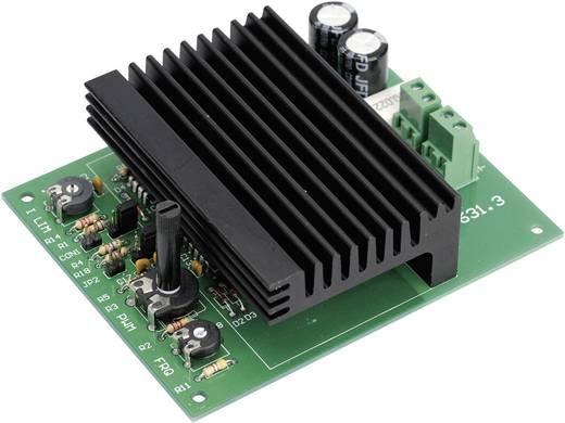 Fordulatszám szabályozó építőkészlet 10A 12V - 24V DC, H-Tronic