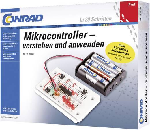 Mikrokontroller kisérletező, tanuló építőkészlet, Conrad