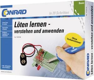 Forrasztás tanulásához alap oktató készlet, Conrad Components 10062, 14 éves kortól (10062) Conrad Components