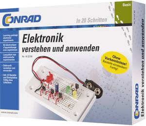 Elektronikai kísérletező készlet 14 éves kortól, Conrad Basic 3964 (3964) Conrad Components
