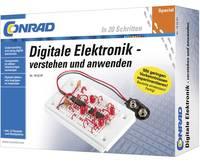 Digitális elektronika tanuló építőkészlet 14 éves kortól, Conrad 10073 Conrad Components