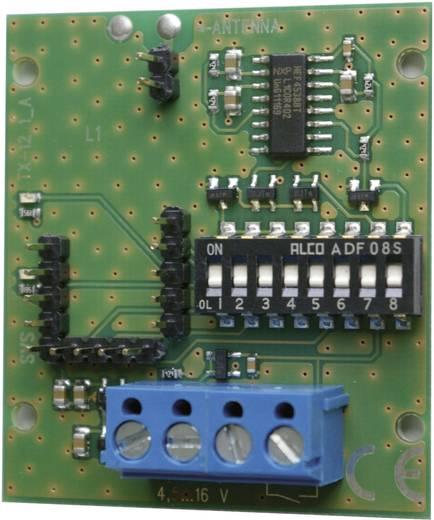 434MHz-es vezérlő modul, építőkészlet 4 - 16 V/DC SVS Nachrichtentechnik 01281.90